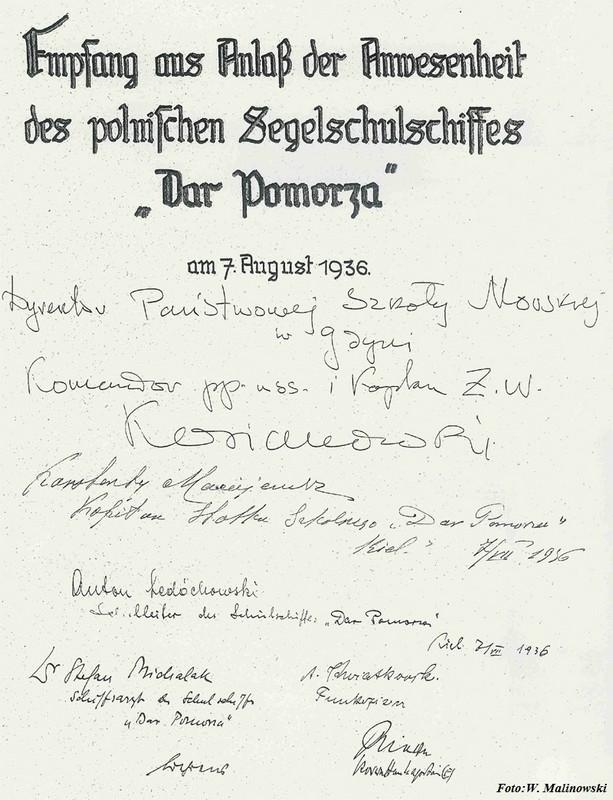 1936.08.07 Das Goldene Buch der Stadt Kielm.